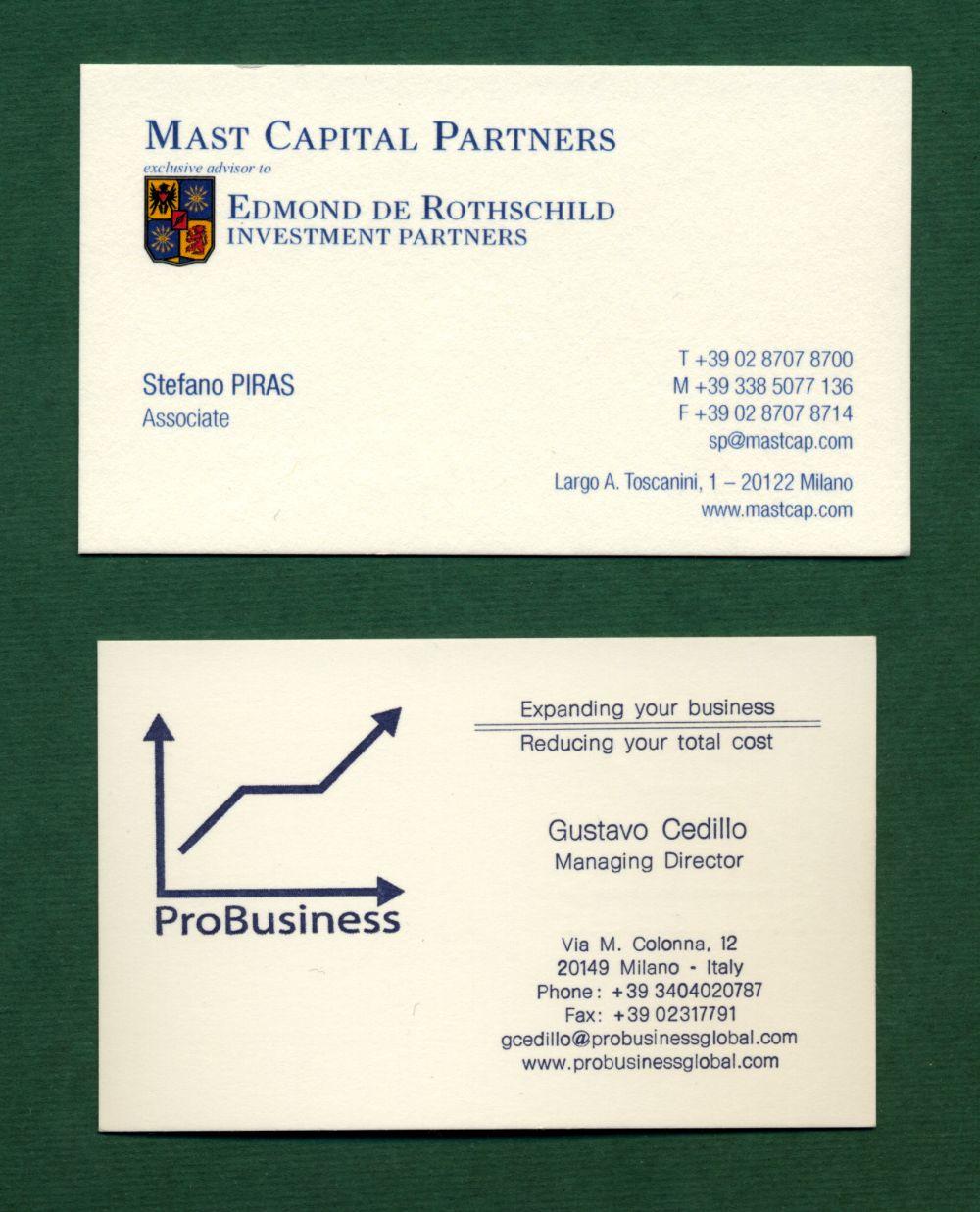 Printing :: Visiting Card :: The company card :: The company card