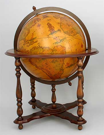 Gift Items Ancient And Modern Globes Old Style Wooden