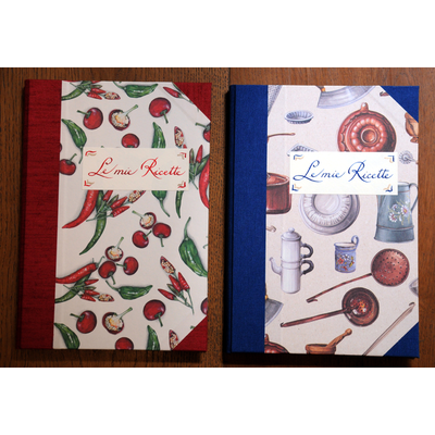 quaderno ricette di cucina
